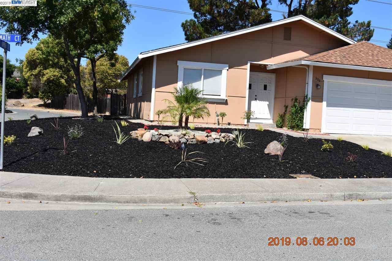 320 Klamath Court Martinez, CA 94553