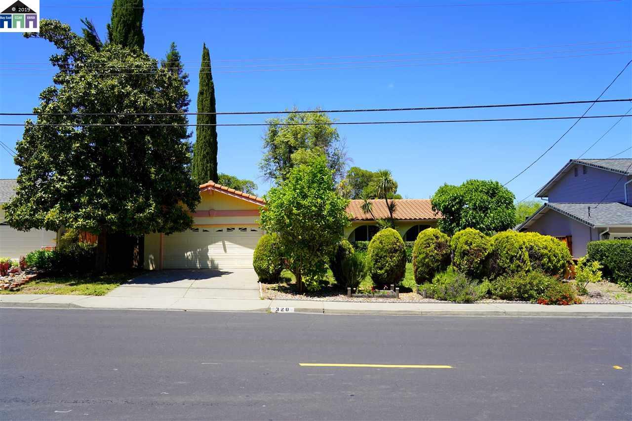 320 Donegal Way Martinez, CA 94553