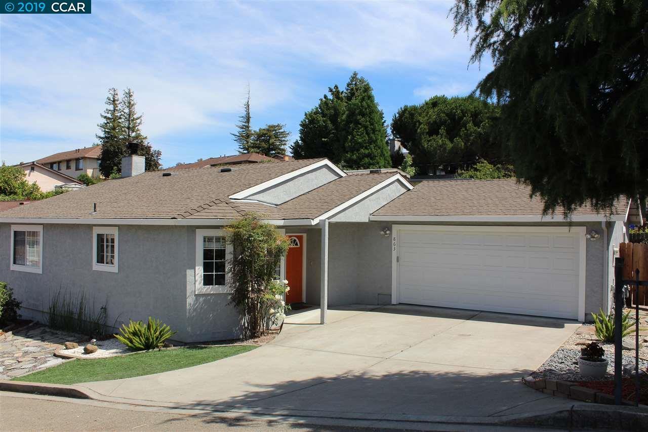 863 Jones Avenue Pinole, CA 94564