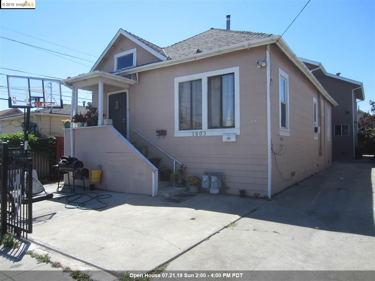 1803 Rosedale Ave Oakland, CA 94601