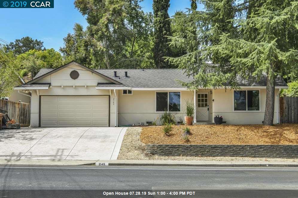 2149 Morello Ave Pleasant Hill, CA 94523