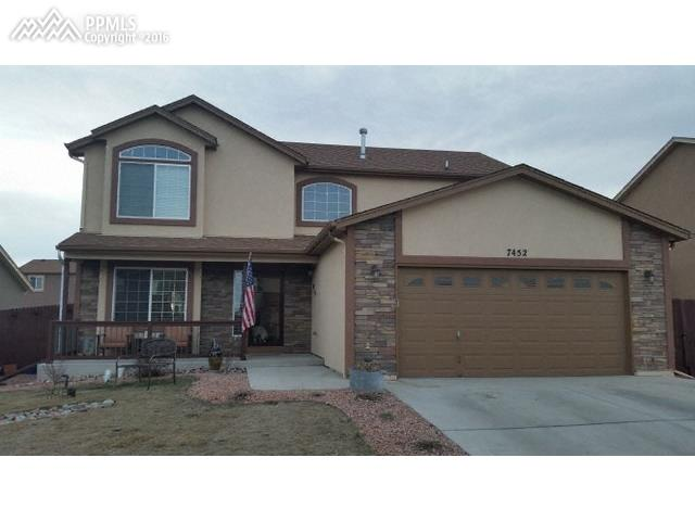 7452  Sun Prairie Drive Colorado Springs, CO 80925