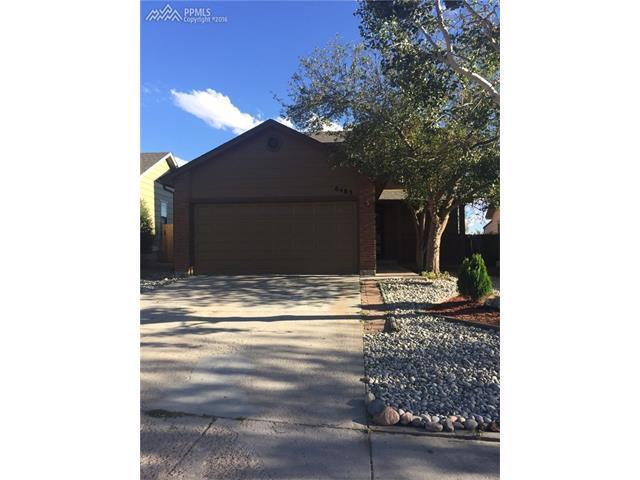 6485  Mohican Drive Colorado Springs, CO 80915