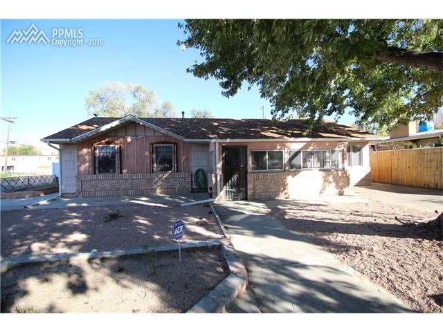 833  Juanita Street Colorado Springs, CO 80909