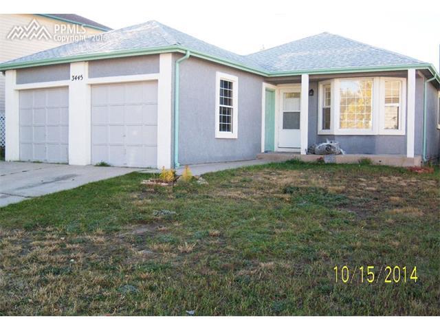 3445  Antero Drive Colorado Springs, CO 80920