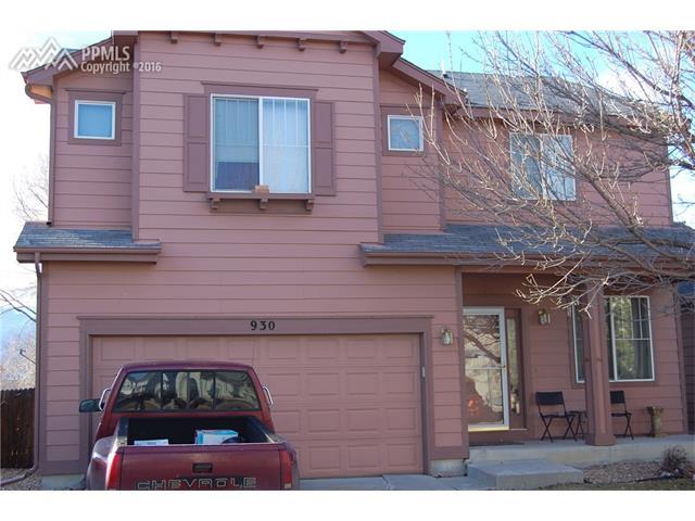 930  Evening Star Court Colorado Springs, CO 80910