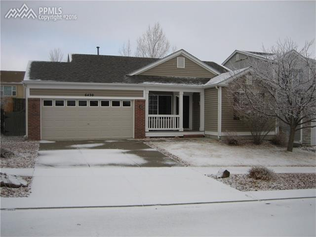 6430  Sonny Blue Drive Colorado Springs, CO 80923
