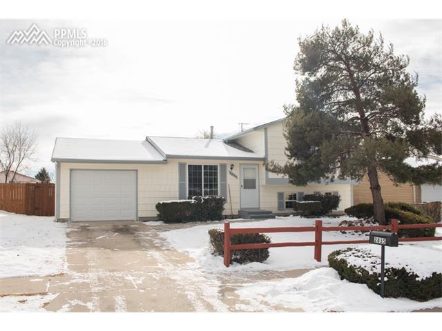 2835  Clarendon Drive Colorado Springs, CO 80916