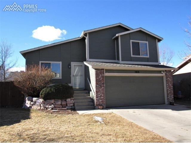 5818  Dutchess Drive Colorado Springs, CO 80923