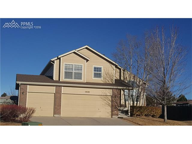 5020  Culpepper Court Colorado Springs, CO 80920