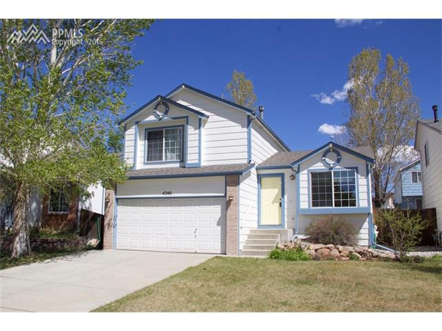 4340  Archwood Drive Colorado Springs, CO 80920