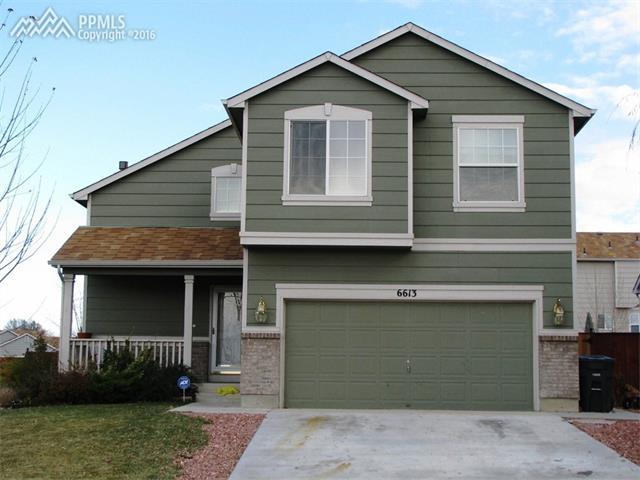 6613  Payette Drive Colorado Springs, CO 80911