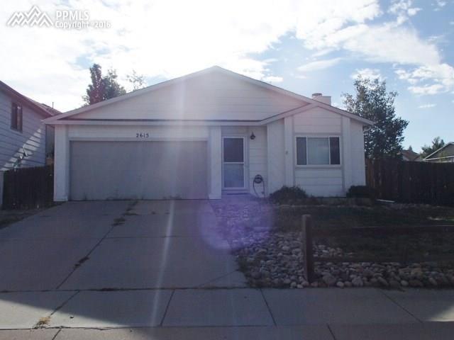 2615  Fredricksburg Drive Colorado Springs, CO 80922