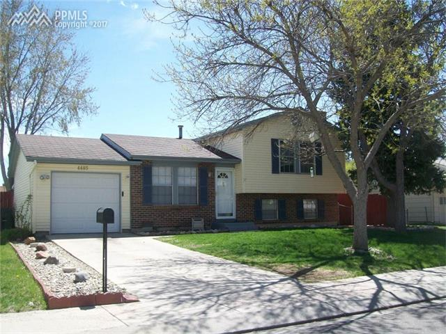 4485 W Monica Drive Colorado Springs, CO 80916