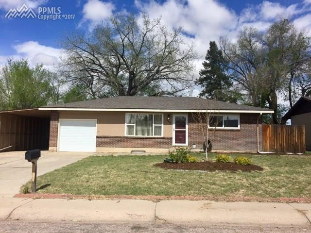 166  Grinnell Street Colorado Springs, CO 80911