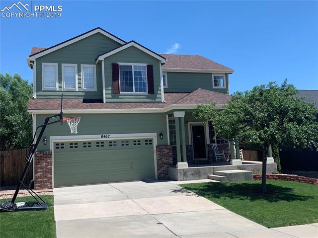 6467 Galeta Drive Colorado Springs, CO 80923