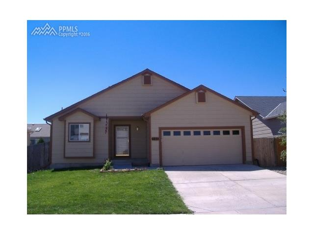 6835  Kasson Drive Fountain, CO 80817