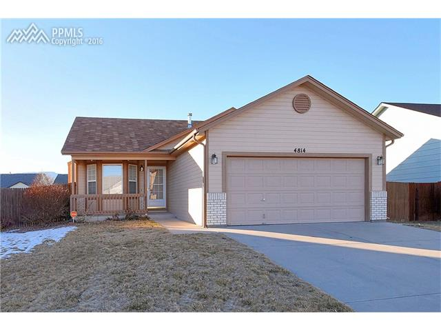 4814  Pathfinder Drive Colorado Springs, CO 80911