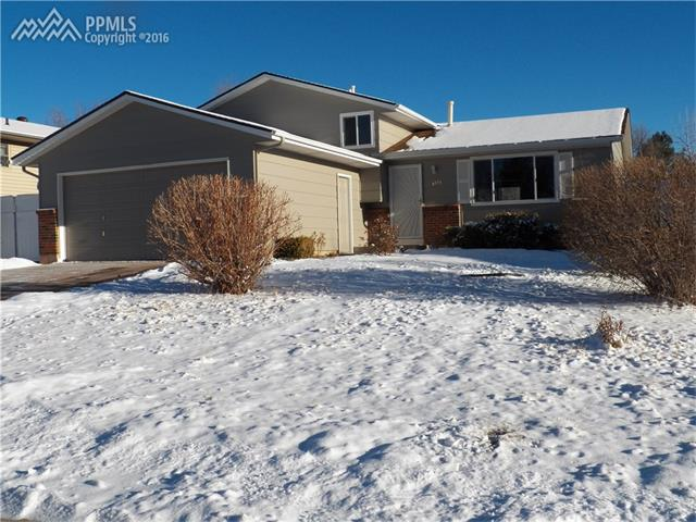 4773  Dover Drive Colorado Springs, CO 80916