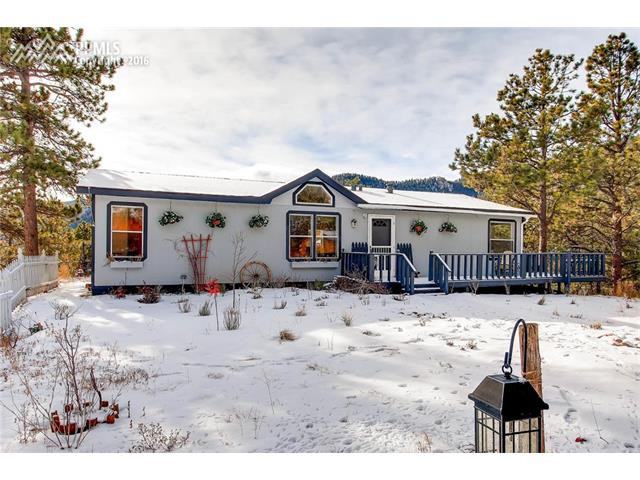 133  Crystola Canyon Road Woodland Park, CO 80863