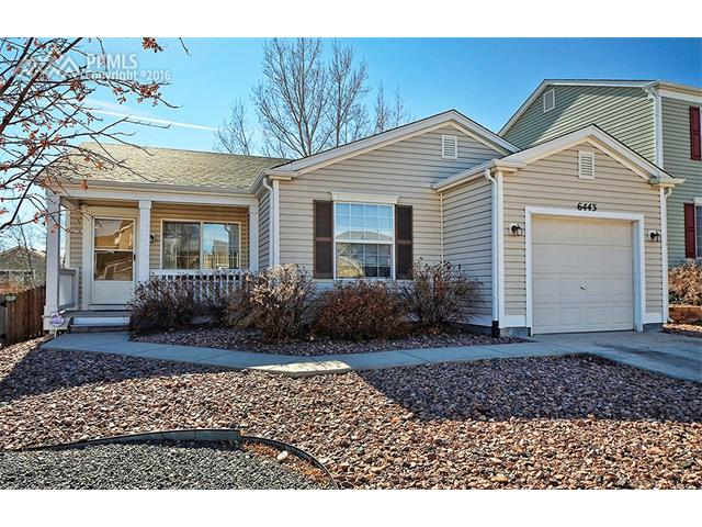 6443  Hannah Rose Road Colorado Springs, CO 80923