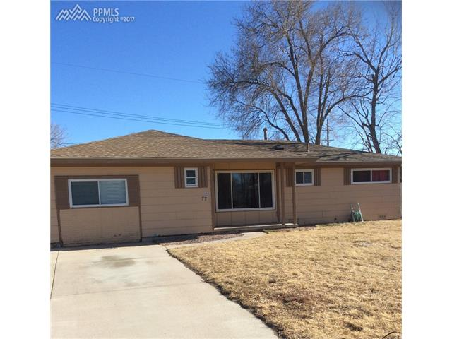 77  Davie Drive Colorado Springs, CO 80911