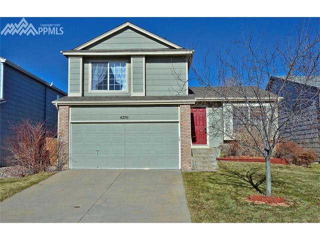 4270  Basswood Drive Colorado Springs, CO 80920