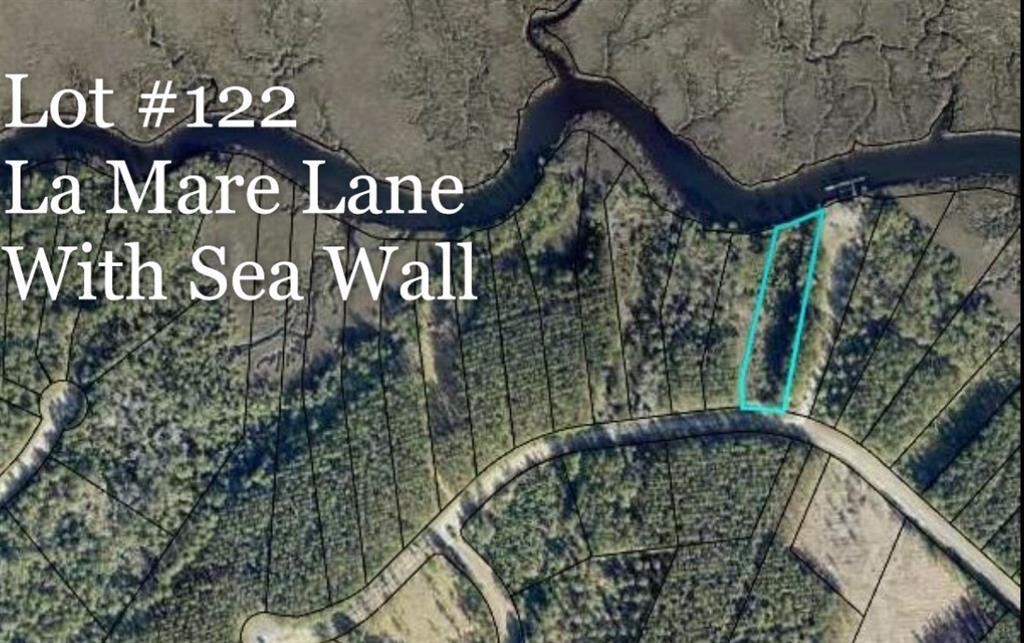 VLot122 La Mare Lane Waverly, GA 31565