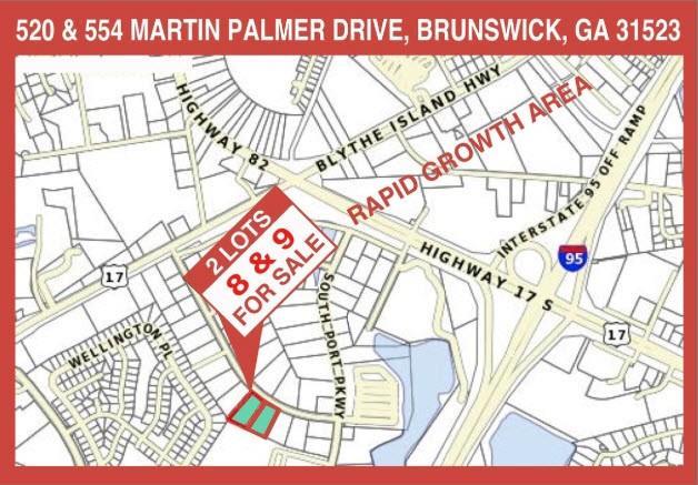 520 & 554 Martin Palmer Drive Brunswick, GA 31523