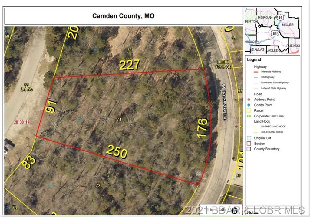 W. Crossfox Lot 22 Plat Trail Camdenton, MO 65020