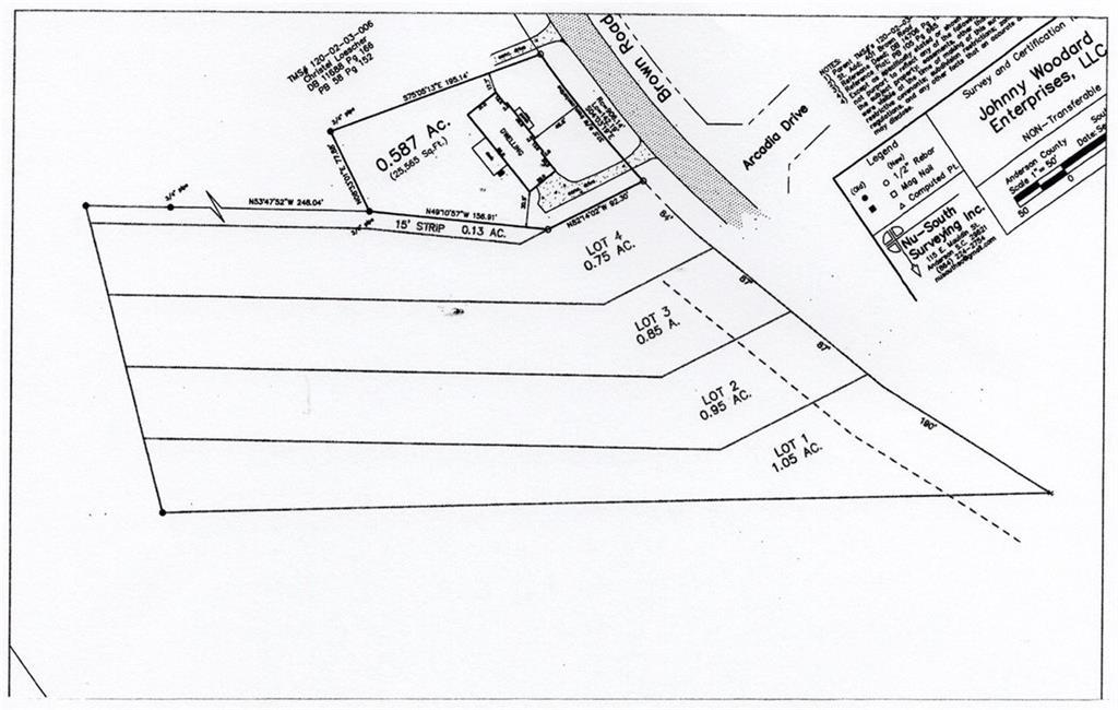 Brown Road Anderson, SC 29621