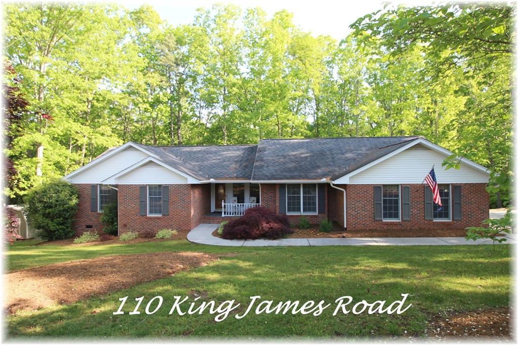 110 King James Road Seneca, SC 29678