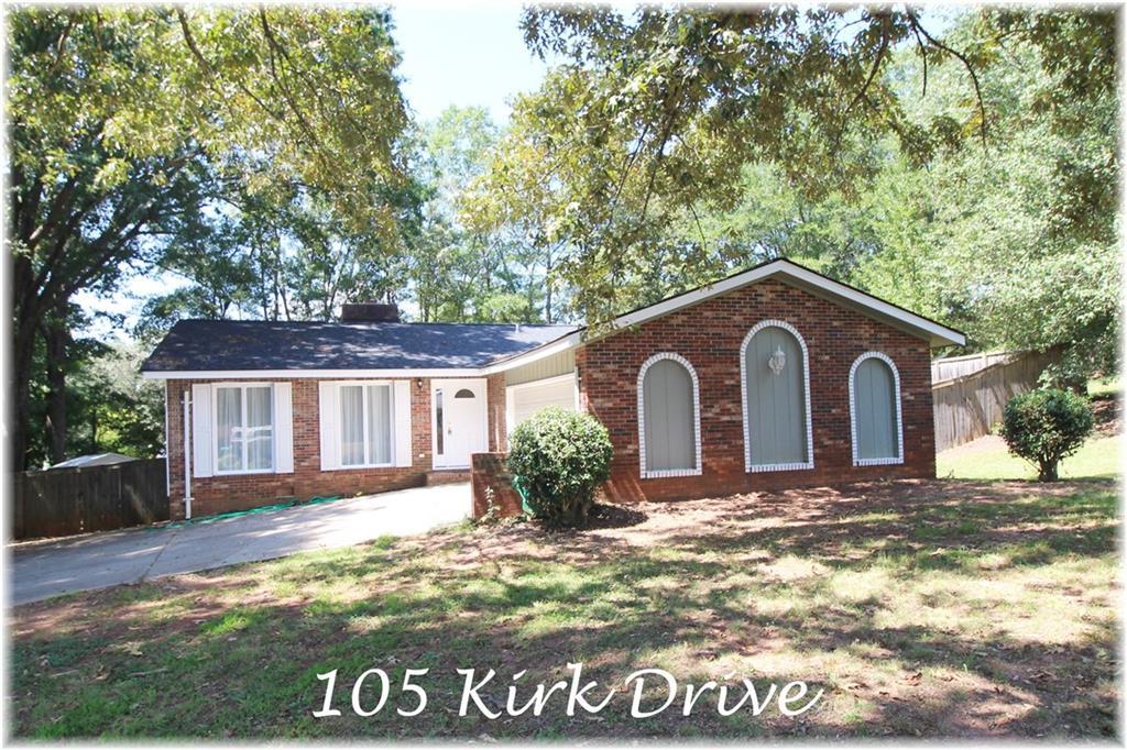 105 Kirk Drive Seneca, SC 29678