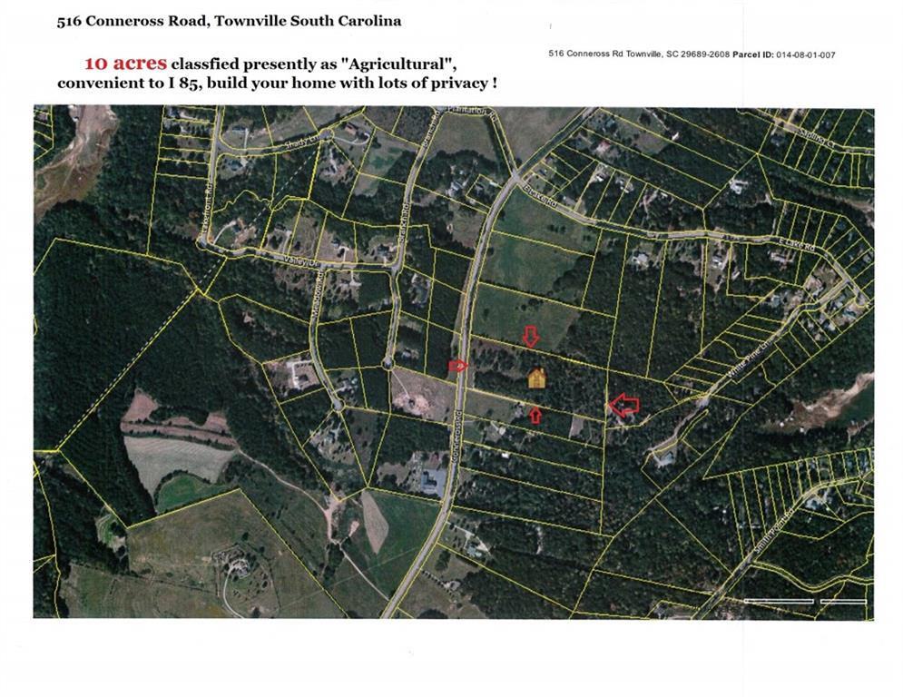 516 Coneross Road Townville, SC 29689