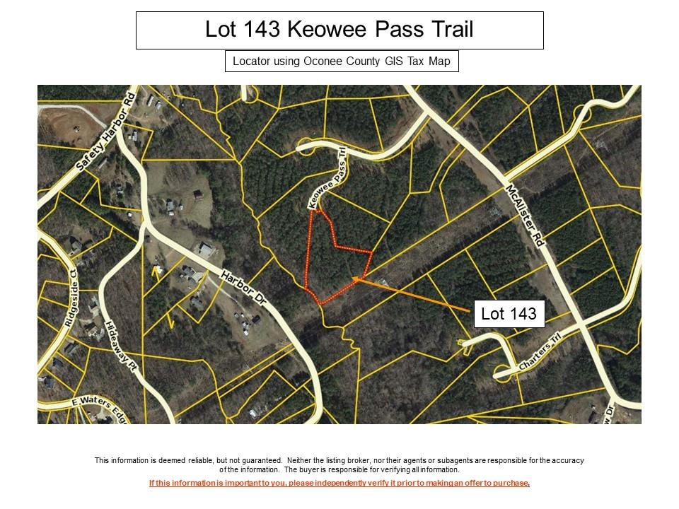 143 Keowee Pass Trail West Union, SC 29696