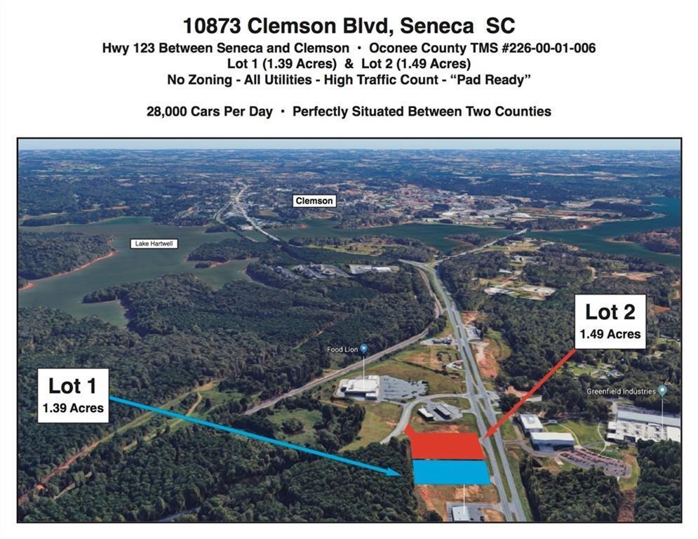 10873 Clemson Boulevard #Lot 1 Seneca, SC 29678