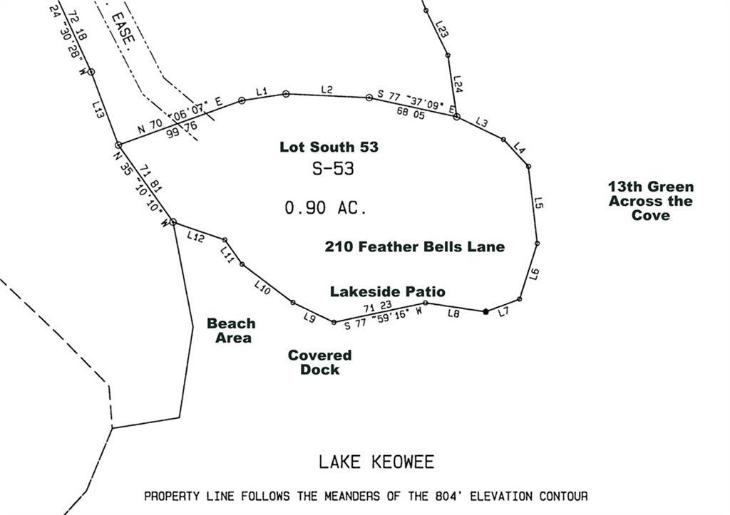 210 Feather Bells Lane Sunset, SC 29685