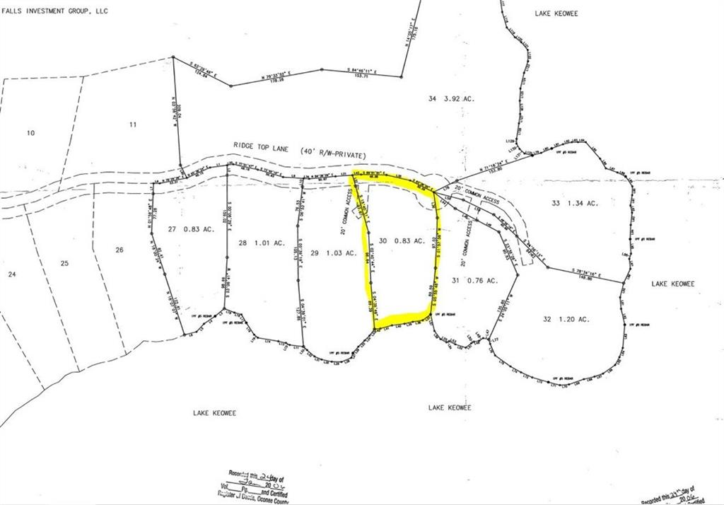 166 Ridge Top Lane Salem, SC 29676