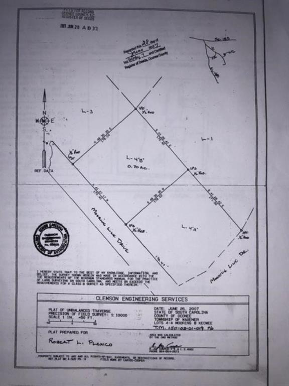 Lot 4b Mooring Line Drive Seneca, SC 29672