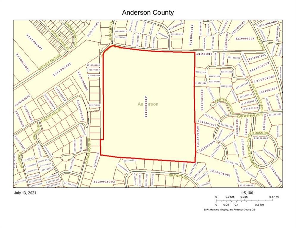 Canterbury Road Anderson, SC 29621
