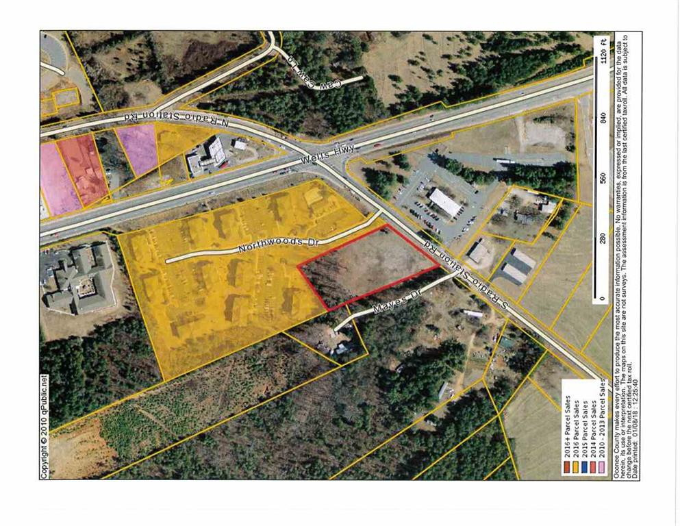13000  S. Radio Station Rd./2.5 Acres Seneca, SC 29678