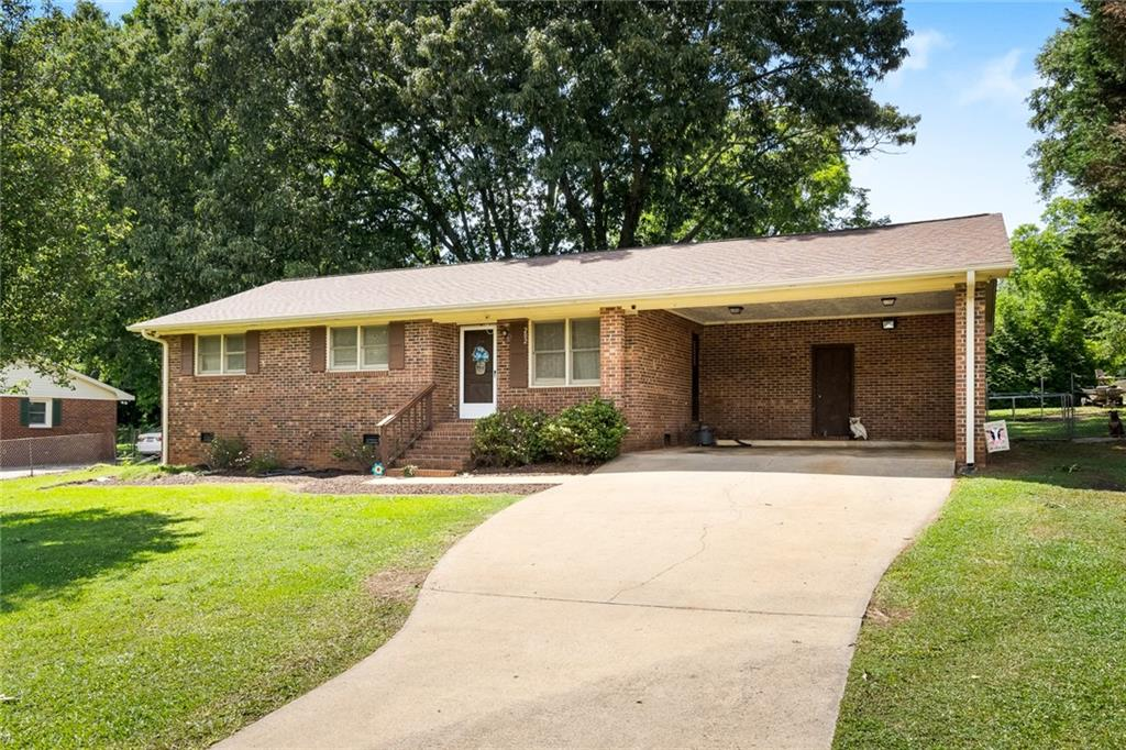 202 Carswell Drive Anderson, SC 29624