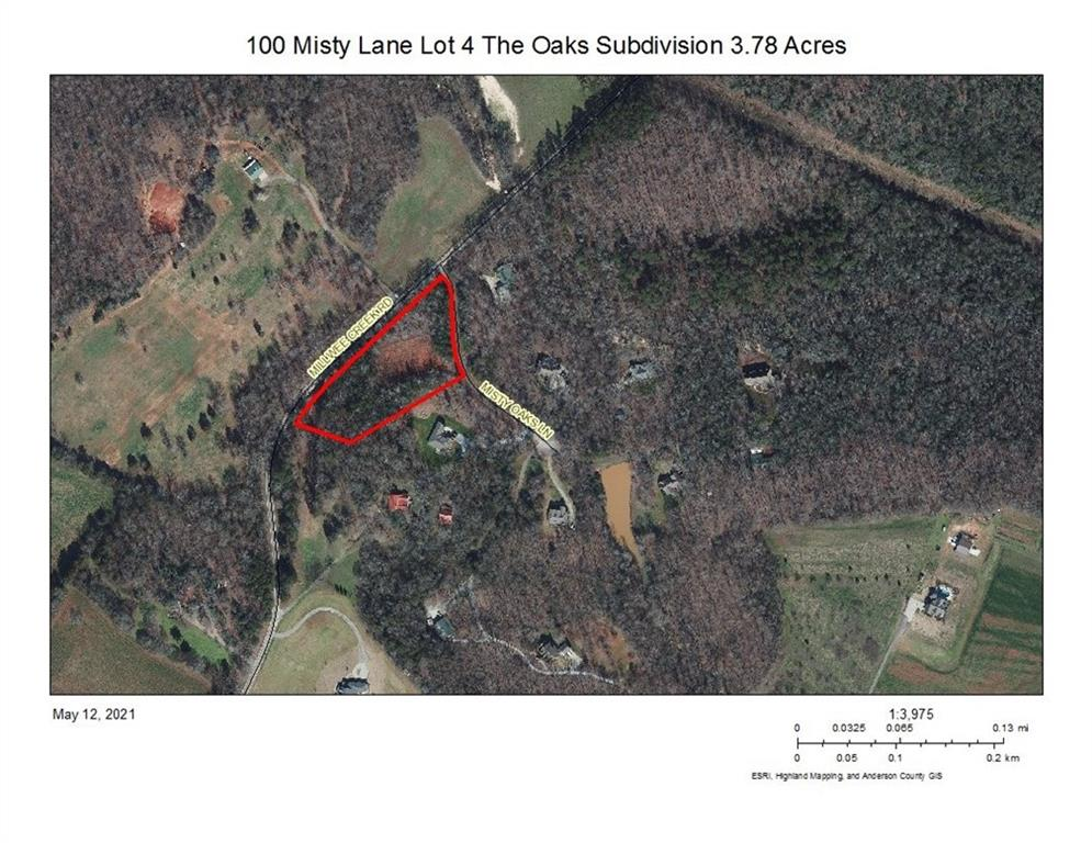 100 Misty Oaks Lane Pendleton, SC 29670